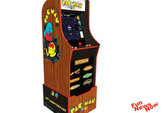 Pac Man 40th Anniversary Arcade1up – Available Soon for $399