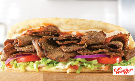Arby's Now Has a SPICY GREEK GYRO