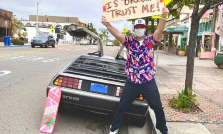 A Guy In San Diego Got A Time Machine And The Future Is…
