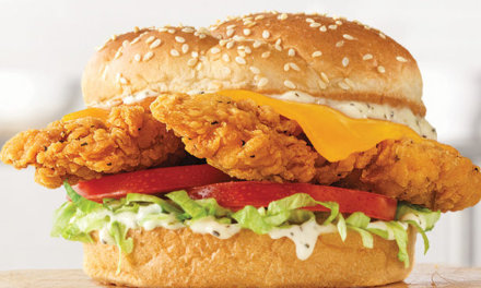 New Chicken Cheddar Ranch Sandwich At Arby's
