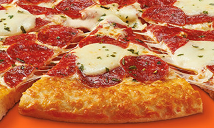 Little Caesars Newest Pizza is Pepperoni Cheeser! Cheeser! Pizza