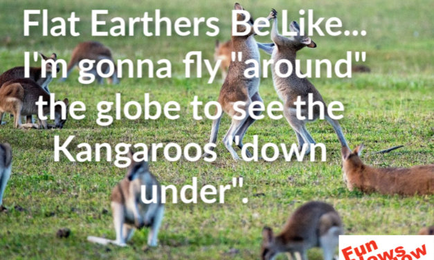 Flat Earthers Be Like…