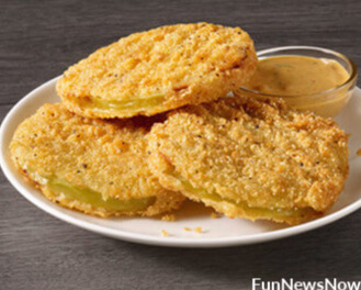 Fried Green Tomatoes at Captain D's