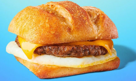 Impossible Breakfast Sandwich At Starbucks