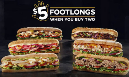 $5 Footlongs Are Back!