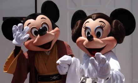 Daily Pic – Star Wars Mickey & Minnie