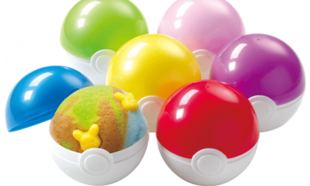 Baskin Robbins 31 Flavors Is Selling POKEMAN BALLS