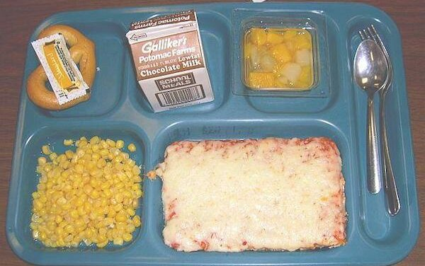 Daily Pic – A School Lunch Tray in 1980