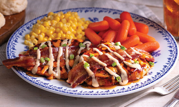 Cracker Barrel's New MAPLE BACON GRILLED CHICKEN Is Available Now