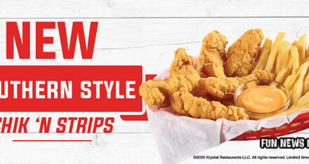 New SOUTHERN STYLE CHICKEN STRIPS At Krystal