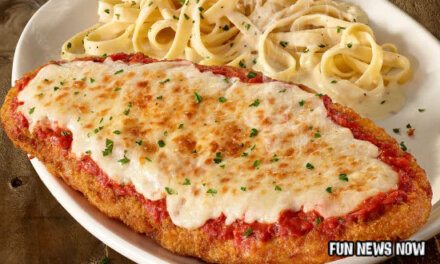 Olive Garden Makes A NEW GIANT CHICKEN PARM