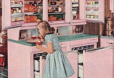 Daily Pic – 1957 GE Refrigerator