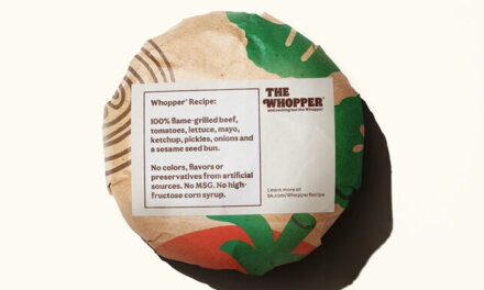 The NEW Whopper – No Colors, Flavors, Or Preservatives From Artificial Sources