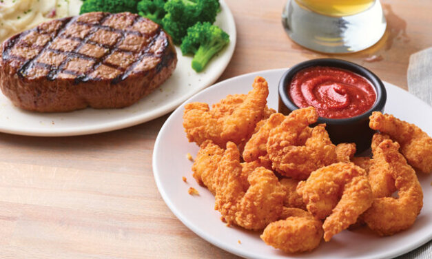 $1 Surf and Turf UPGRADE for All Steaks At APPLEBEE'S
