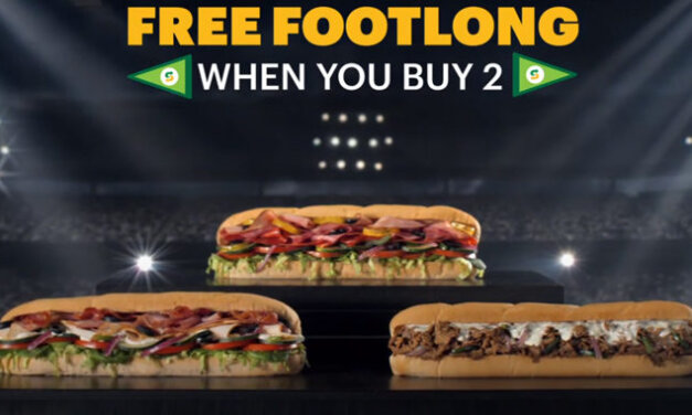 Subway Now Offering Buy 2 Get 1 Sub Free