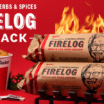 KFC Brings Back Christmas 11 Herbs & Spices Fire Log This Holiday Season