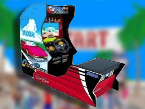 Outrun Arcade1Up LEAKED!!!