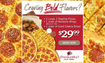 Pasqually's New $29.99 PIZZA Deal