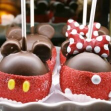 Mickey's Candy Apple Creations